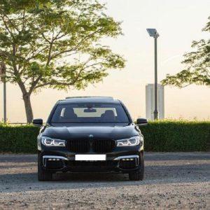 BMW 740 rent dubai