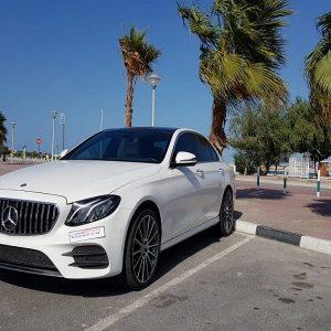 Mercedes E300 Rental Dubai