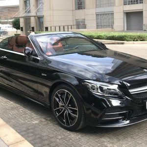 Mercedes C43 AMG Convertible Rental Dubai