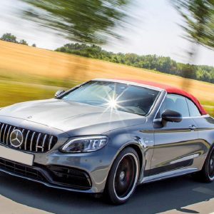 Mercedes C63s Convertible Rental Dubai